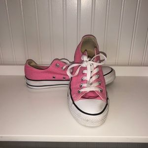 CONVERSE ALL*STAR Bubblegum Pink Low Ox Shoes 7.5